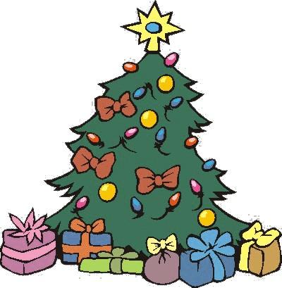 Картинка елка подарками